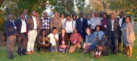 Zambia workshop participants